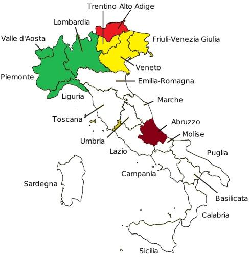 Sezioni italine